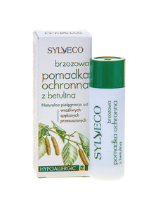 SYLVECO OCHRONNA POMADKA Z BETULINA sensitive cracked dry lips natural ingredien