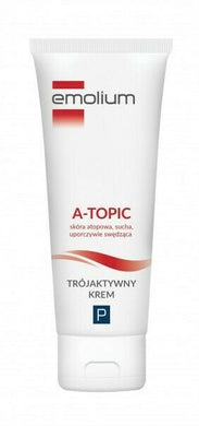 Emolium A-TOPIC Three active cream 50ml Dermocosmetic Trojaktywny krem