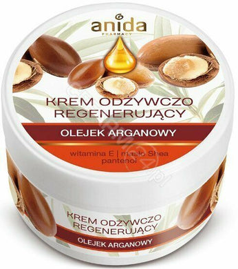 Anida Nourishing and regenerating cream with argan oil 125ml krem Olej arganowy