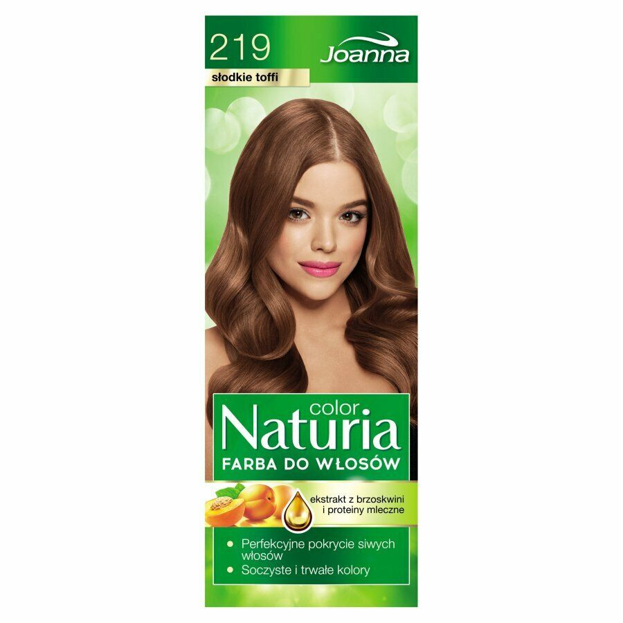 Joanna Naturia Color Hair Dye 219 Sweet Toffee 150g