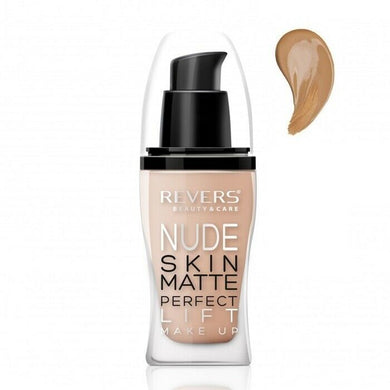 REVERS NUDE SKIN MATTE PERFECT Face foundation - 51 PEACH 30ml
