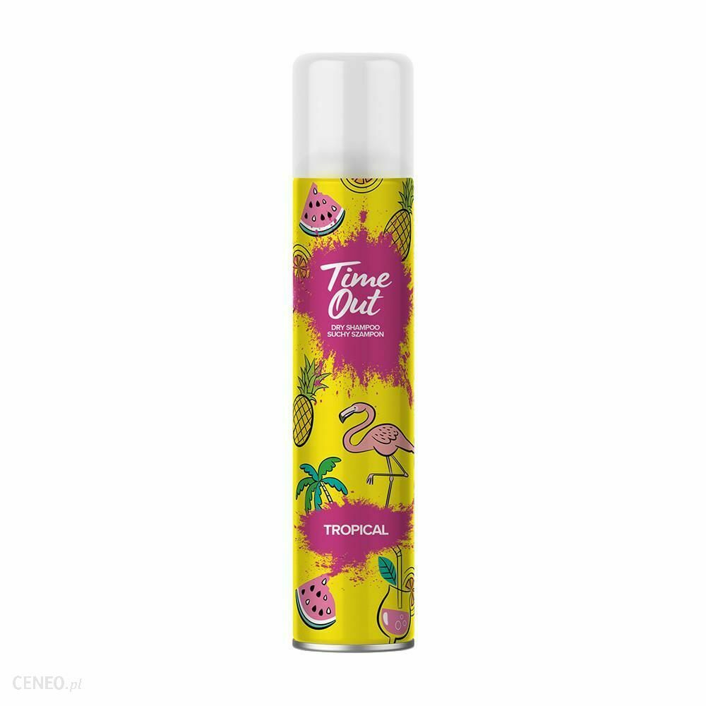 Time Out TROPICAL Dry Hair Shampoo 200ml