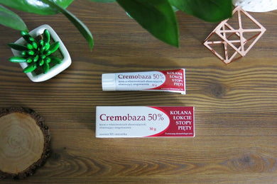 Cremobaza 50% 30g Cosmetics for feet Kosmetyk do stop