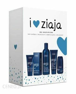 Ziaja YEGO Moisturizing Cream+Shower Gel 3in1+After Shave Balm+Anti-perspirant