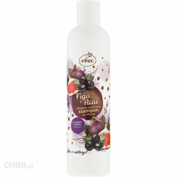 OVOC Shampoo for dry hair Figa & Acai 300ml
