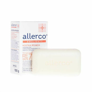 ALLERCO 100g WASHING BAR FOR ATOPIC SKIN
