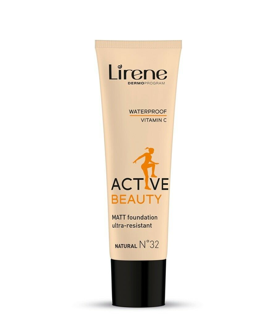 LIRENE Active Beauty foundation 32 Natural 30ml podklad