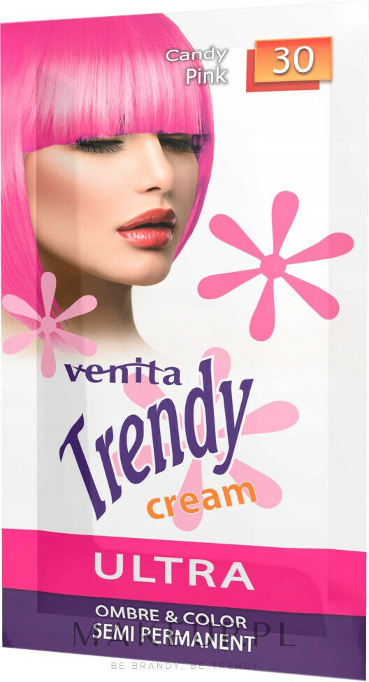 Venita Trendy (sachet) - Semi-permanenty cream hair toner