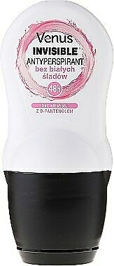 Venus Invisible An invisible antiperspirant rolled with d-panthenol kulce z