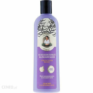 Babcia Agafia Hair Conditioner Juniper Against Hair Loss 280ml wypadanie wlosow