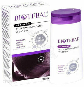 BIOTEBAL 200ml Anti Hair Loss Shampoo Free P&P