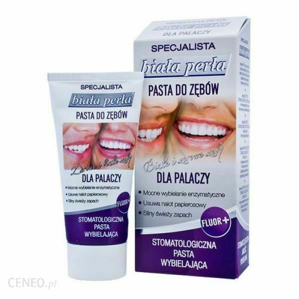Biala Perla Toothpaste For Smokers 75ml pasta do zebow dla palaczy