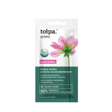 Tolpa mask capillaries soothing antiredness mask 8 ml maska przeciw