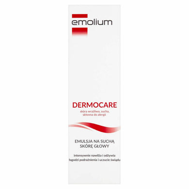 Emolium DERMOCARE Emulsion for dry scalp 100ml na sucha skore glowy