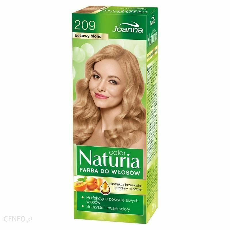 JOANNA Naturia Color Hair Dye No. 209 Beige Blonde