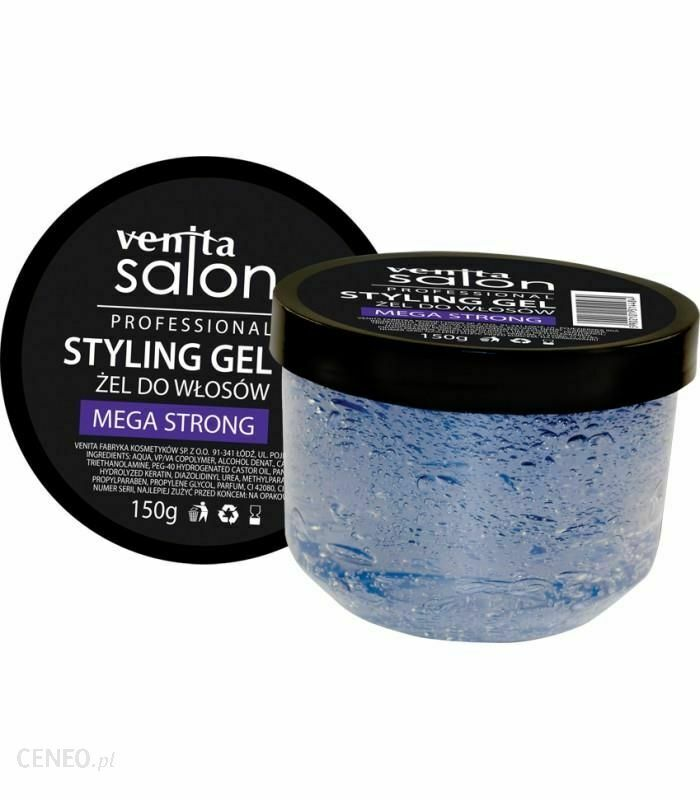 Venita Salon Styling Gel Mega Strong 150G