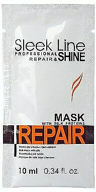 Stapiz Sleek Line Repair Hair Mask Hair mask with silk Maska do wlosow