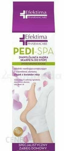 EFEKTIMA Pedi foot sock moisturizing mask 1 pair skarpeta do stóp nawil?aj?ca