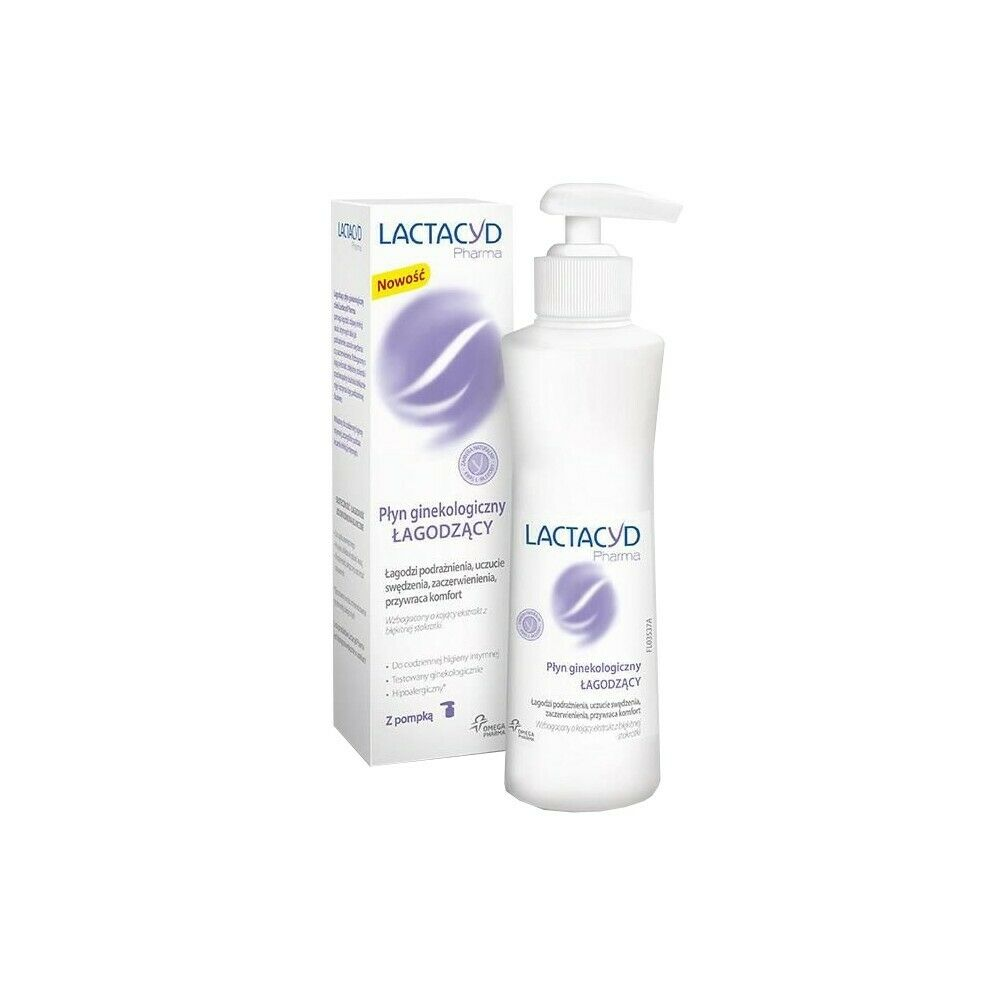 Intimate hygiene cosmetic LACTACYD PHARMA Gynecological soothing fluid 250ml