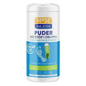 No 36 Deodorizing Foot Powder With 35G Natural Ingredients Puder Do Stop