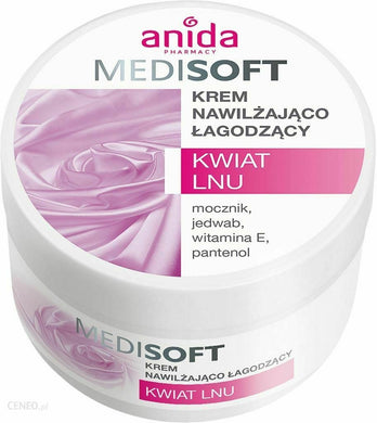 Face cream Anida Medisoft face cream moisturizing soothing flax extract 100ml