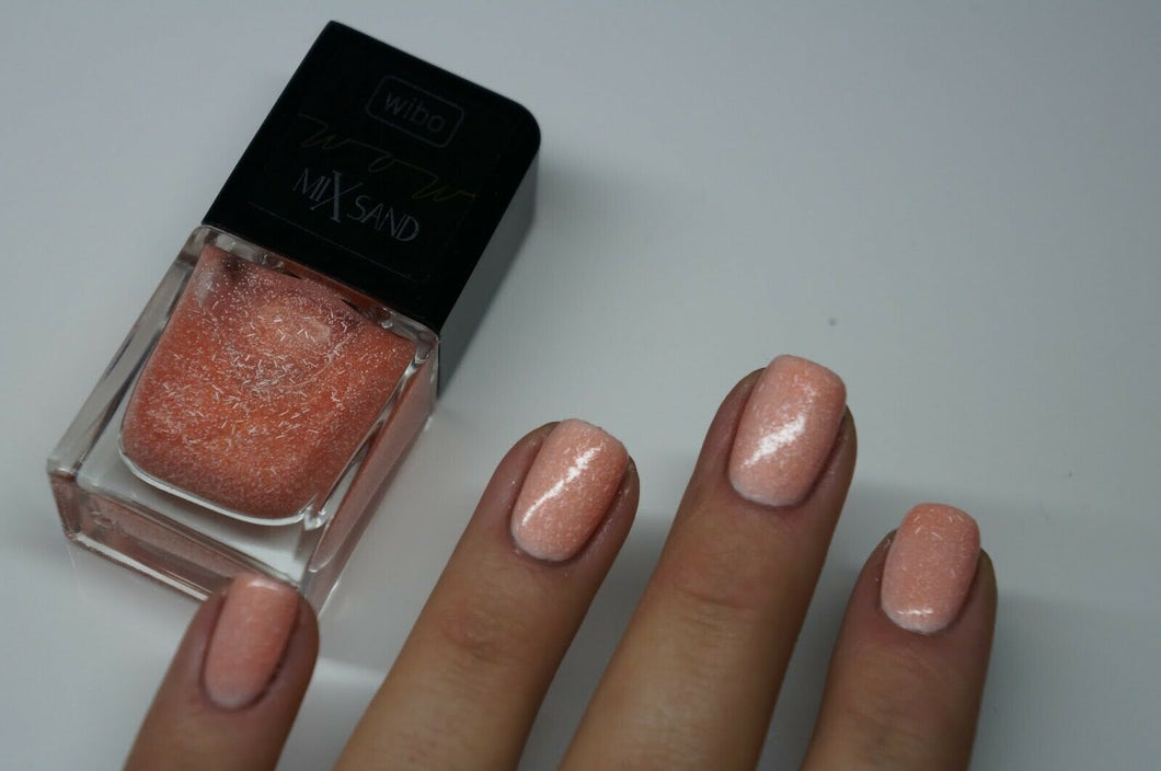 WIBO WOW MIX SAND NAIL PAINT NO. 04