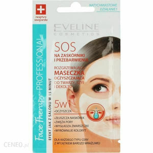 Eveline SOS mask 5in1 warming and cleansing 7ml