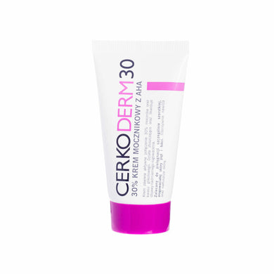 Cerkoderm 30 Urea cream 30% with AHA 50ml Dermocosmetic Krem mocznikowy