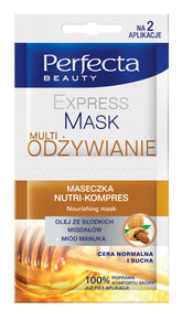 PERFECTA EXPRESS MASK MULTI NUTRITION MASK NUTRI-COMPRESS 2 x 5ML