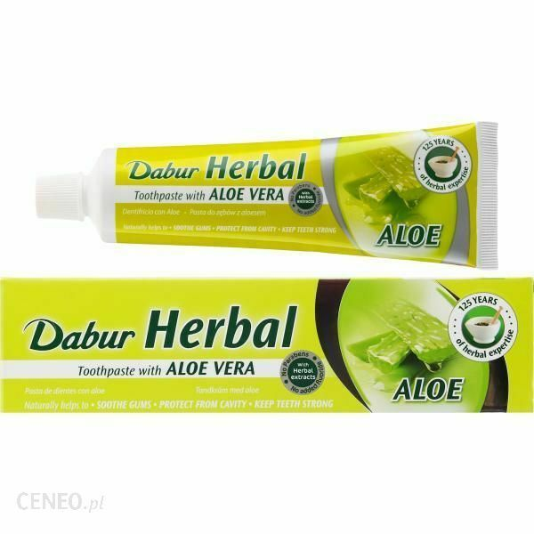 Dabur Herbal Toothpaste With Activated Carbon Whitening 100Ml Pasta Do Zebow