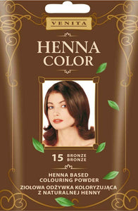 Venita Herbal coloring conditioner Henna Color 30g 15 bronze