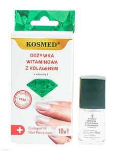 Kosmed Nail conditioner with collagen vitamin 9ml