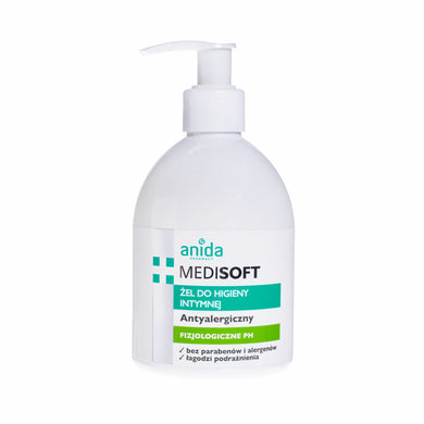 AnidaMEDISOFT hypoallergenic gel for intimate 300ml hipoalergiczny higiena