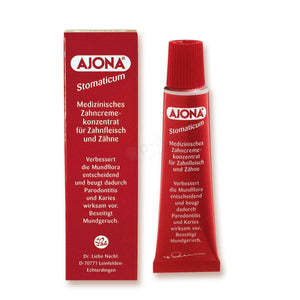 Ajona Stomaticum A paste concentrate bleeding gums and periodontal disease 25ml