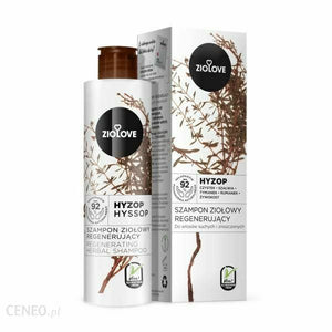 Ziolove Regenerating Herbal Shampoo Dry & Damaged Hair 250ml Do Włosów Suchych