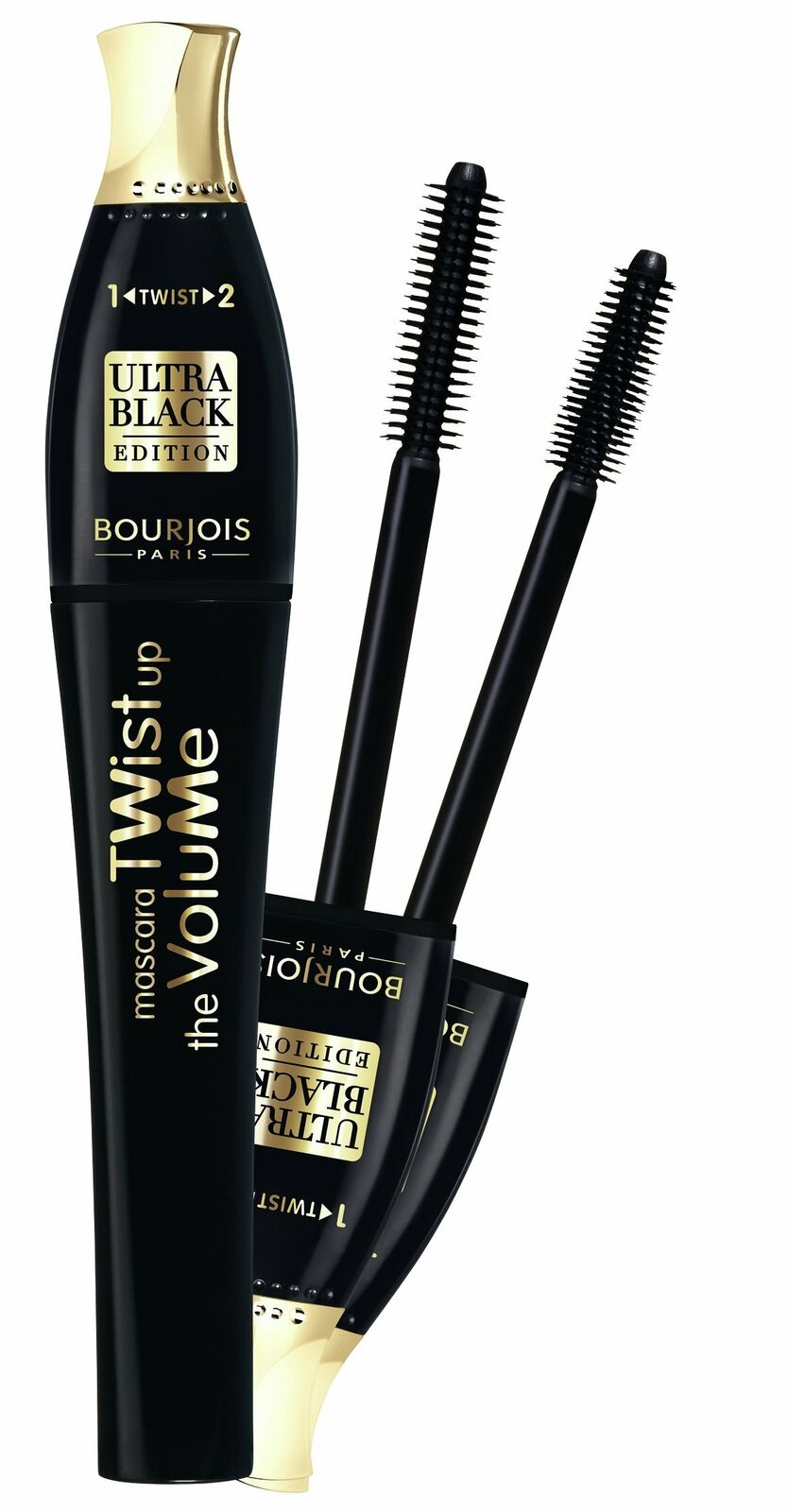 Bourjois Twist Up The Volume Mascara 8ml - 21 Black Tusz do rzes czarny