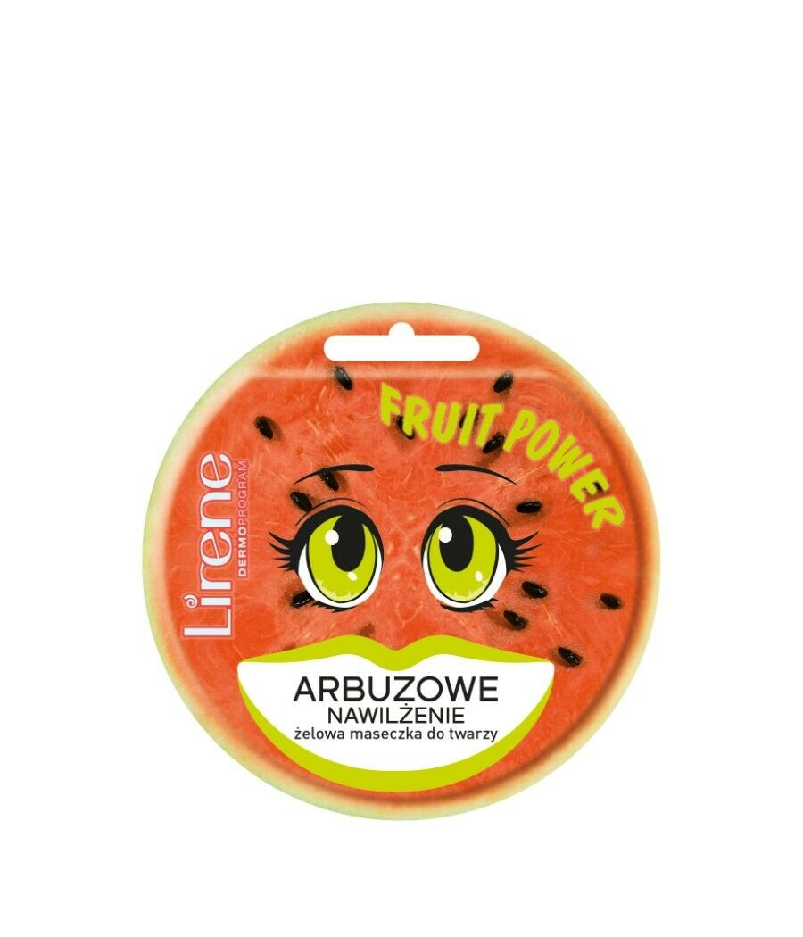 Lirene Fruit Power Watermelon face mask 10ml maseczka do twarzy