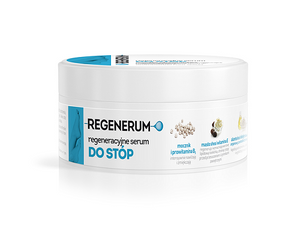 REGENERUM Regenerating Foot Serum serum do stop 125ml Aflofarm