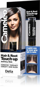 Delia Cameleo Hair Root Touch-Up Corrector Cover Up Suckers & Gray Black 1pc
