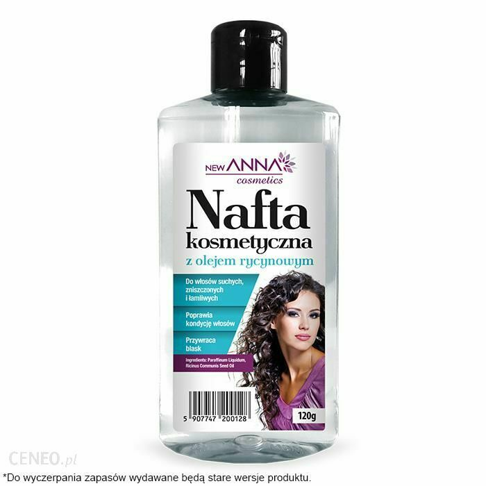 ANNA COSMETICS Cosmetic kerosene hair with castor oil 120g Hair conditioner