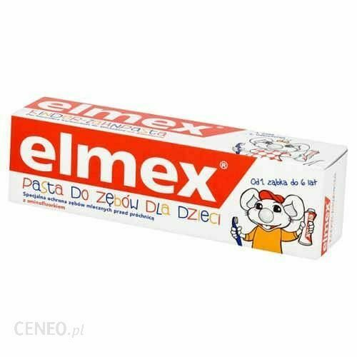 Elmex Toothpaste Children With Aminofluoride from 1 tooth to 6 Years 50ml