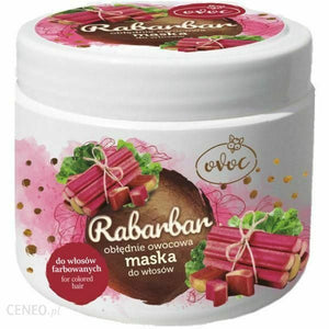 Ovoc Rhubarb Insanely Fruit Mask For Colored Hair 500ml