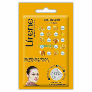Lirene PEEL OFF Tightening face mask 10g maska do twarzy