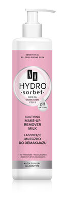 AA Hydro Sorbet  Soothing cleansing milk mleczko do demakijazu