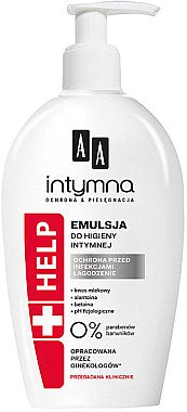 AA Intymna + Help  Emulsion for intimate hygiene Emulsja do higieny