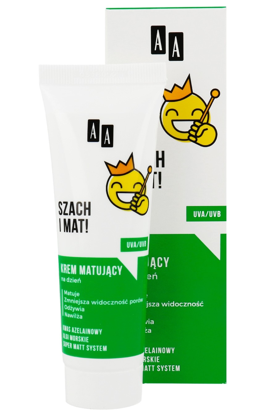 AA Emoji  Mattifying cream for the day of Check and Mat! Krem matujacy