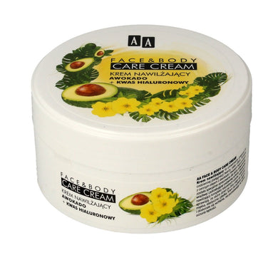 AA Face And Body cream with Avocado and hyaluronic acid Krem do twarzy