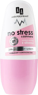 AA No Stress Cahmire Antistress rollon antiperspirant Antystresowy