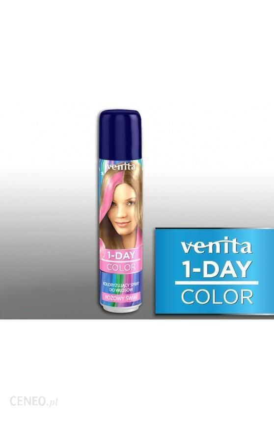 Venita 1-Day Color Spray Spray For Hair Coloring One Day Pink World 50ml