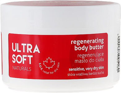 Ultra Soft Naturals  Regenerating body butter mas?o do ciala
